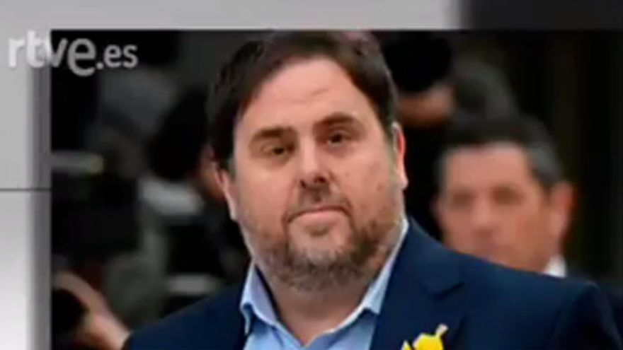 Críticas a TVE por entrevistar a Oriol Junqueras en 'Informe Semanal'