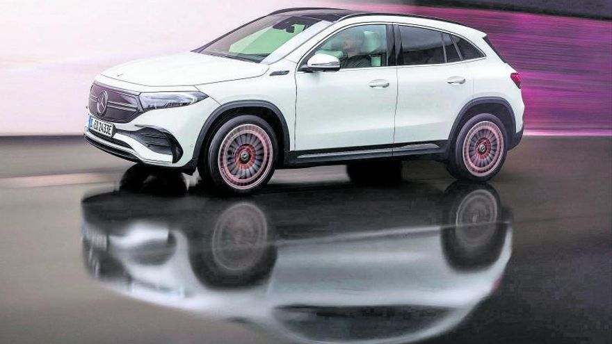 Mercedes-Benz EQA, SUV, deportivo y 100% eléctrico