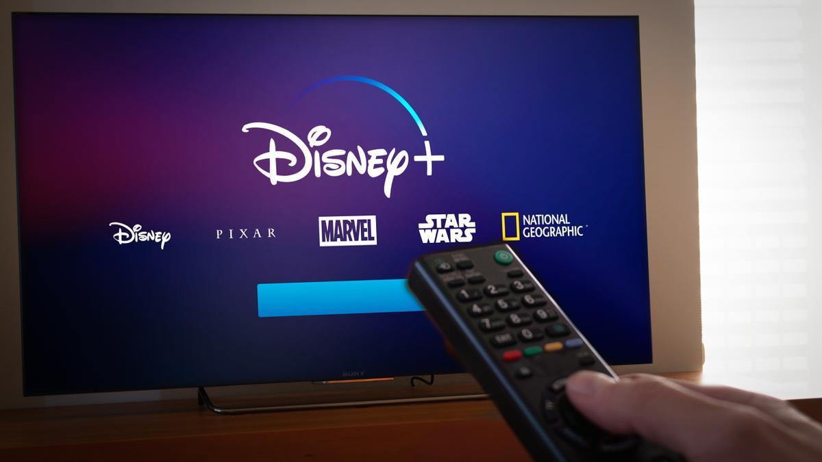 Una imagen de Disney en la televisión
