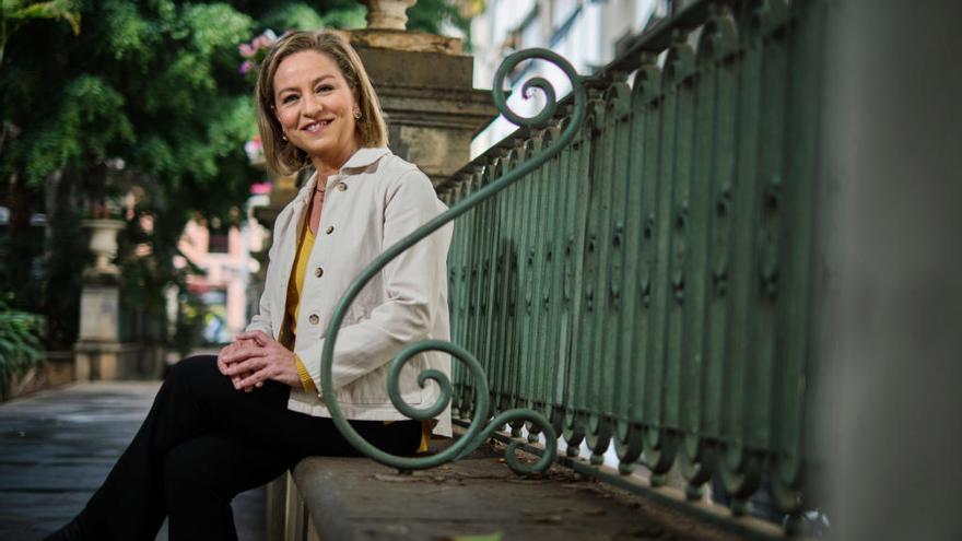 """Ana Oramas: """"Si Rodríguez diera un paso a un lado, facilitaría mucho la confluencia nacionalista"""""""