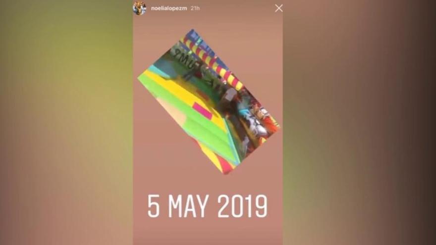 La mujer de Reyes publica un vídeo del futbolista con su hija días antes de su fallecimiento