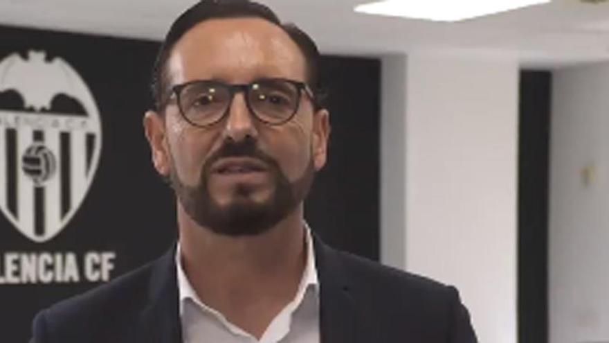 "Bordalás: ""Vengo a recuperar elADN del Valencia CF"""