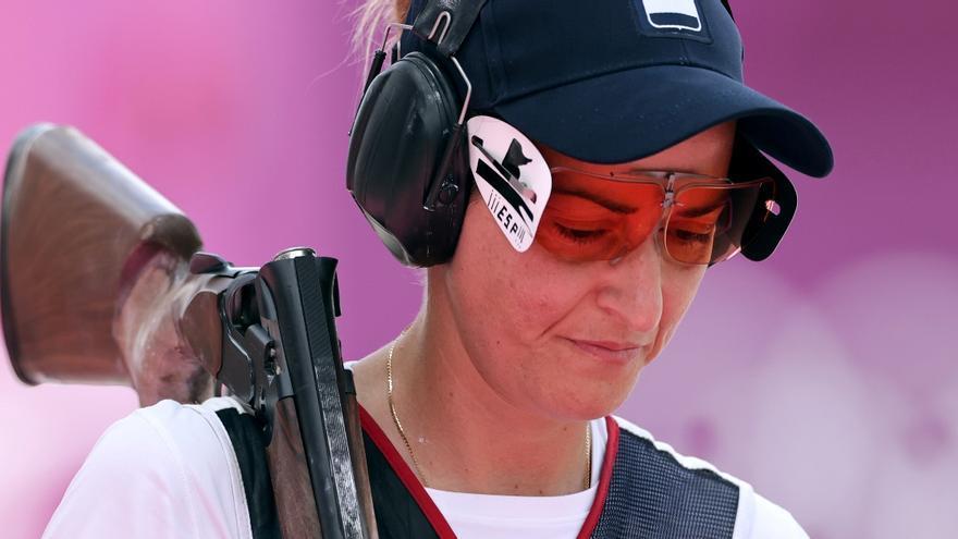 Fátima Gálvez tendrá que remontar para entrar en la final de foso olímpico de tiro al plato