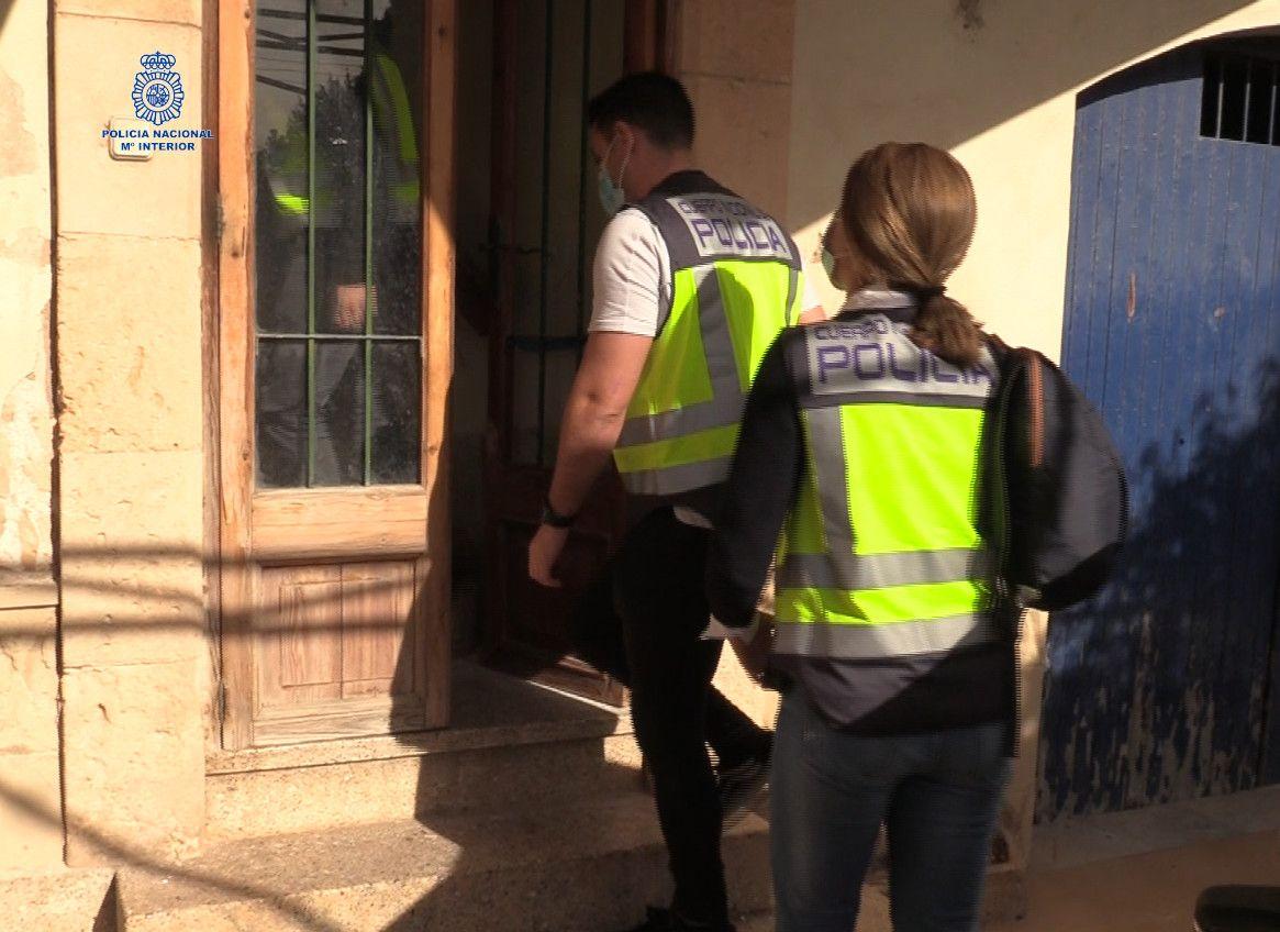 Cuatro detenidos en Palma por explotación sexual de una mujer
