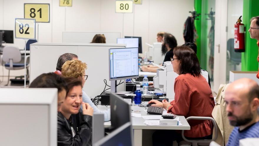 Los españoles destinan el 39,3% del salario a pagar impuestos