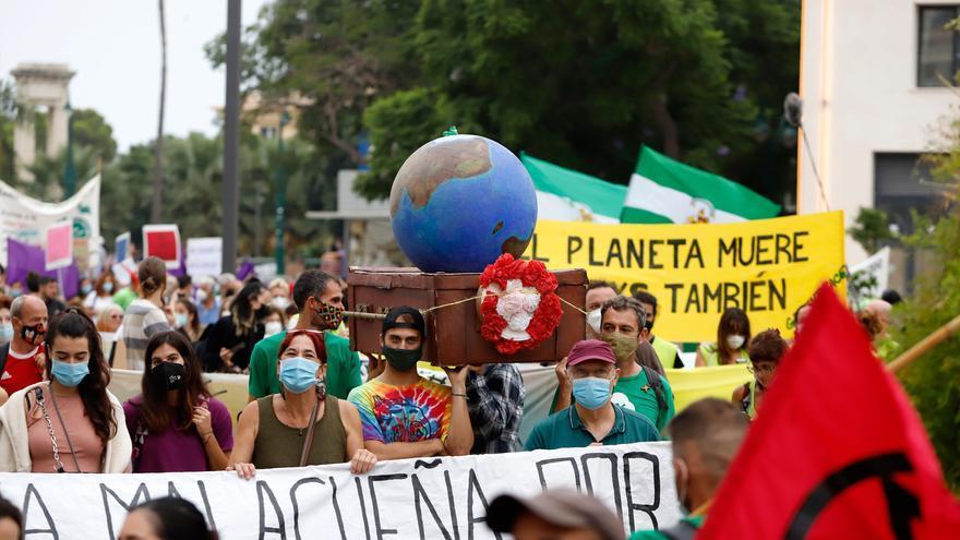 Fridays for Future vuelve a las calles de Málaga para pedir un 'Juicio por el clima'