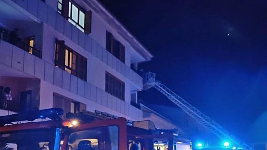 Incendio en una vivienda en Pollença