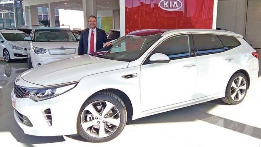 El nuevo Kia Optima SW ya disponible en Auto Vidal