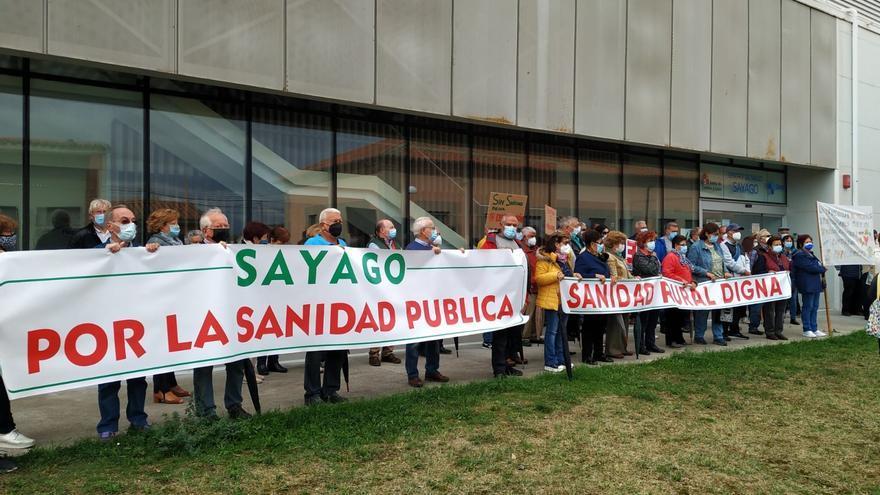 """Décima concentración por la sanidad en Sayago: """"La solución es más médicos"""""""