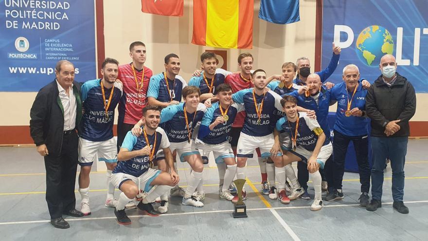 La UMA logra el Campeonato de España Universitario de fútbol sala