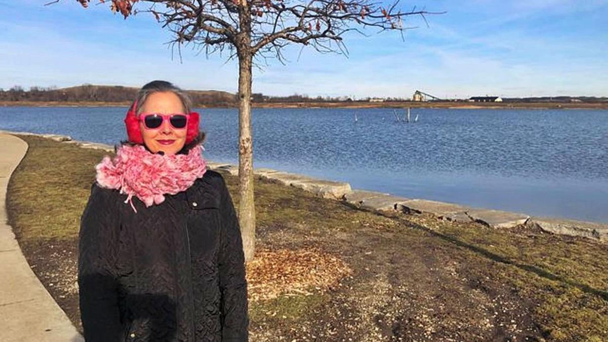 Dolores Lago González hizo el recorrido del Camino Inglés desde Illinois. |  // L. O.