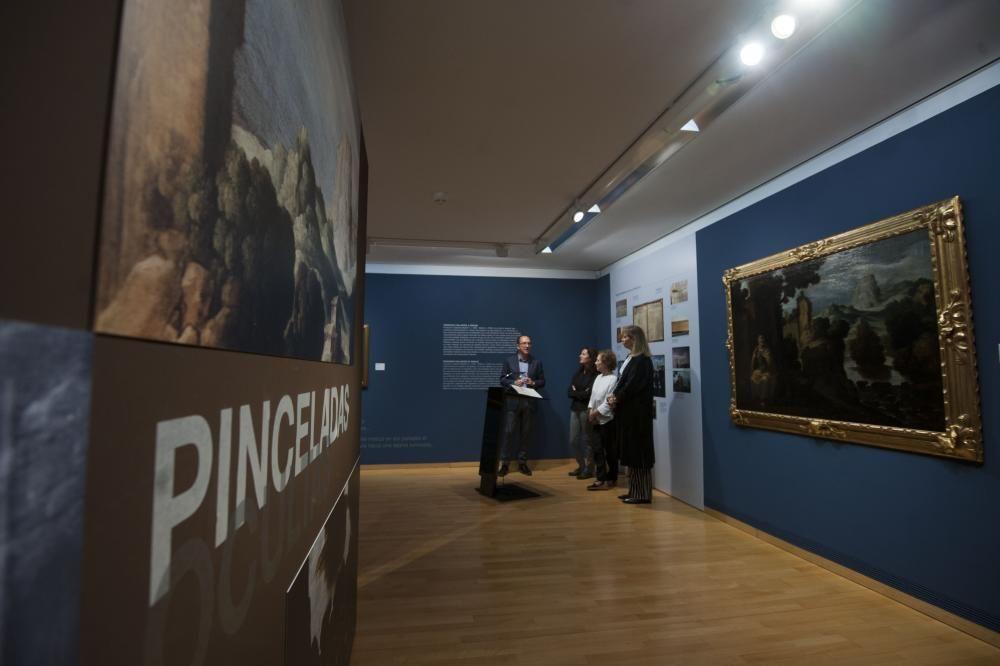 El cuadro 'Arrepentimiento de San Pedro' esconde una imagen oculta bajo la que se puede ver a primera vista que fue descubierta en el proceso de restauración.