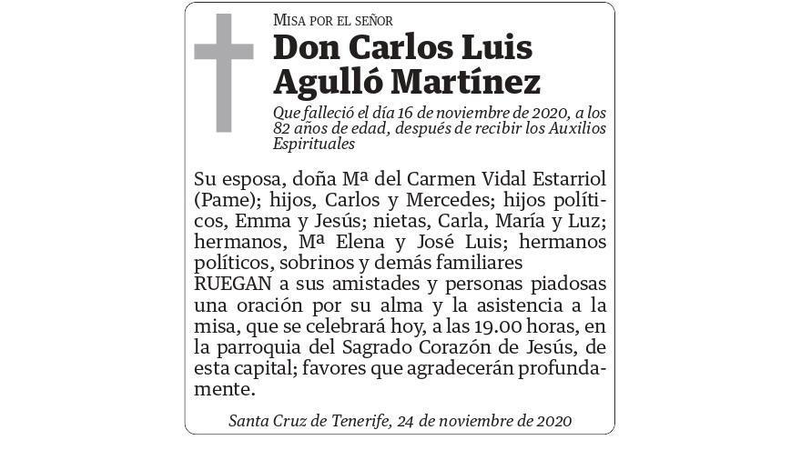 Carlos Luis Agulló Martínez