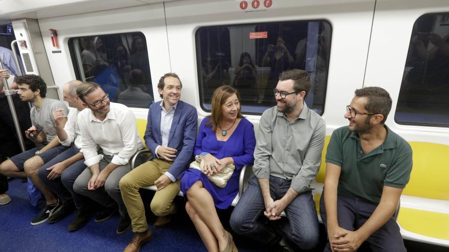 El Govern quiere que Europa pague el metro al Parc Bit y el tranvía al aeropuerto de Palma