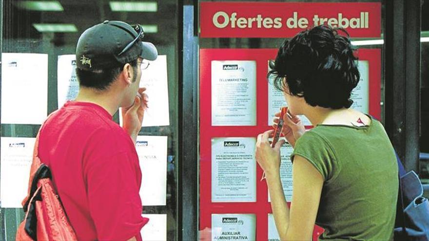 Crecen en Castellón los contratos de baja cualificación para universitarios