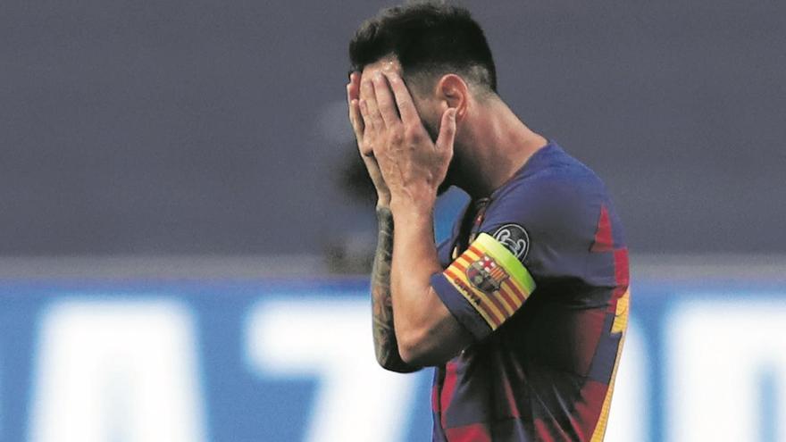 Messi sacseja el món del futbol anunciant la seva voluntat de deixar el Barça