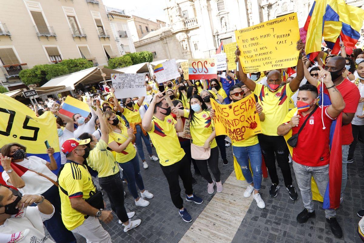 Colombia lanza un SOS desde Murcia