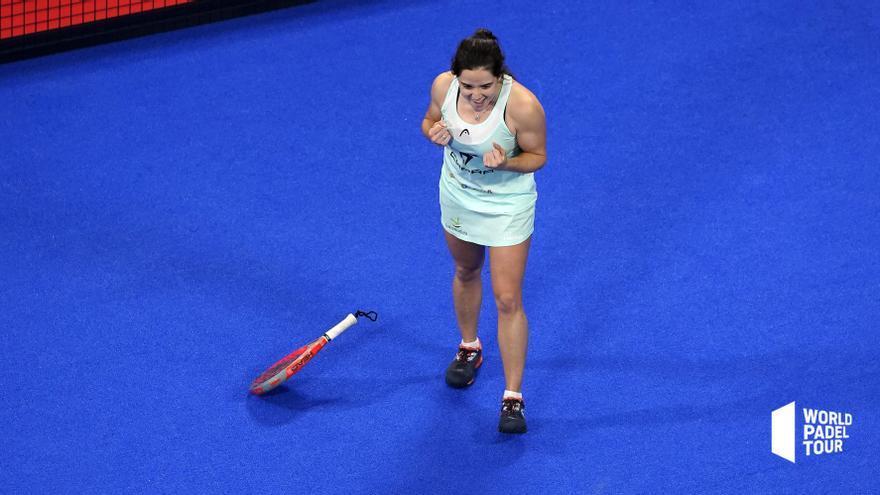 Paula Josemaría gana el duelo extremeño y ya está en semifinales del Alicante Open