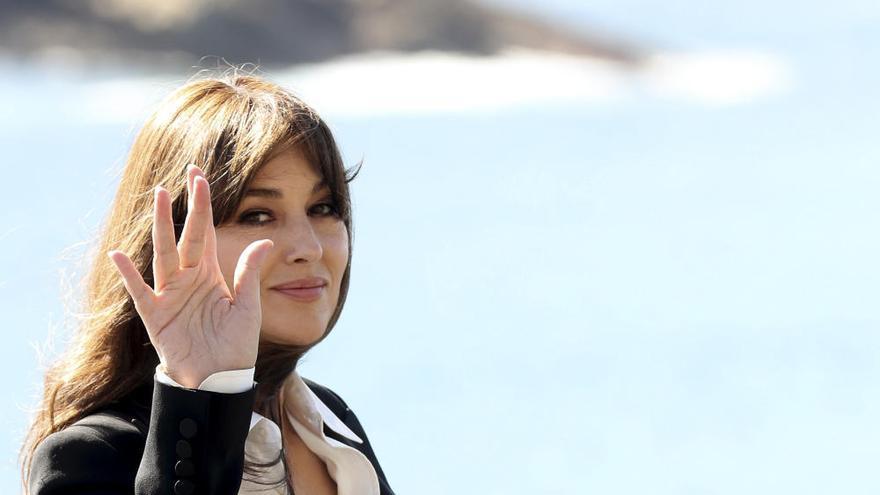 Monica Bellucci, una estrella en San Sebastián
