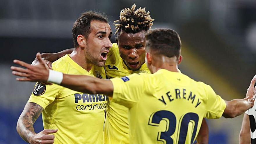 Alcácer evita de nuevo problemas a un Villarreal que remontó ante el Sivasspor en los últimos minutos (1-3)
