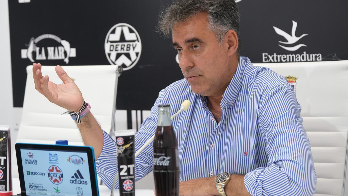 Joaquín Parra, durante su comparecencia de este jueves.