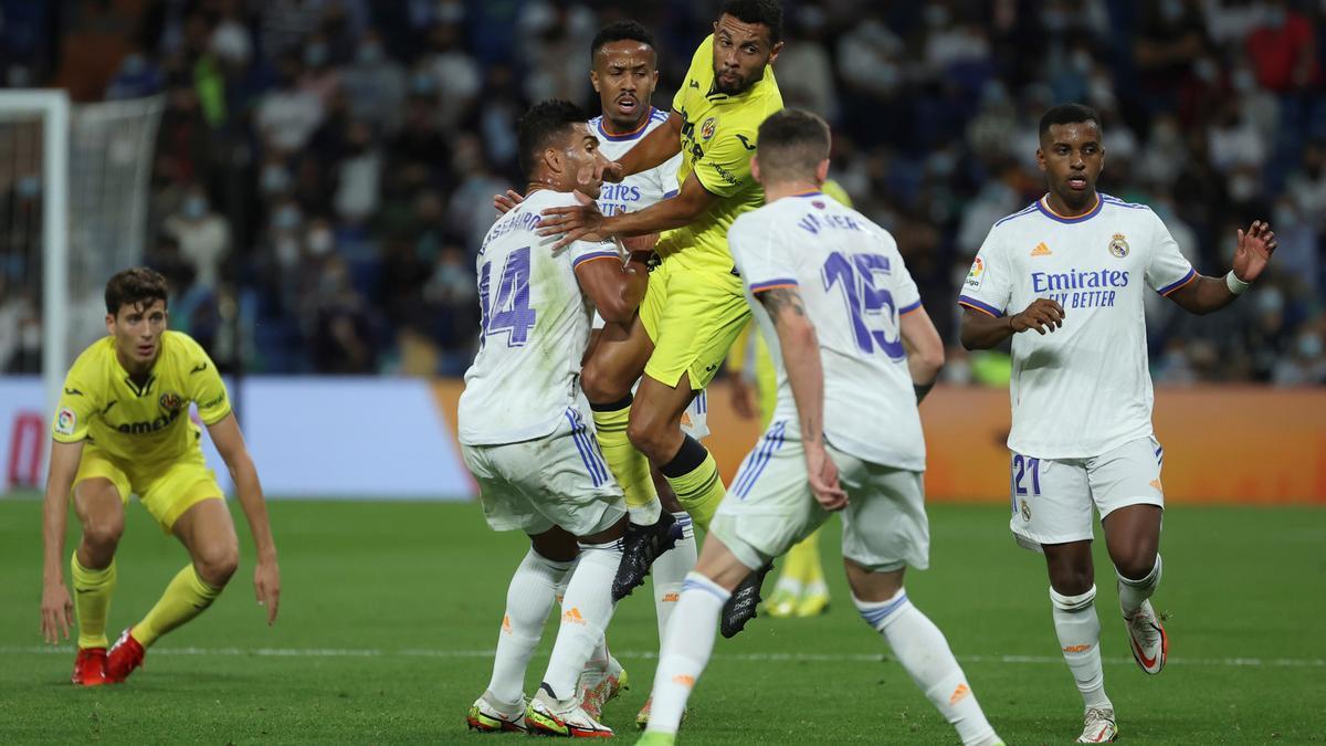 Real Madrid - Villarreal.