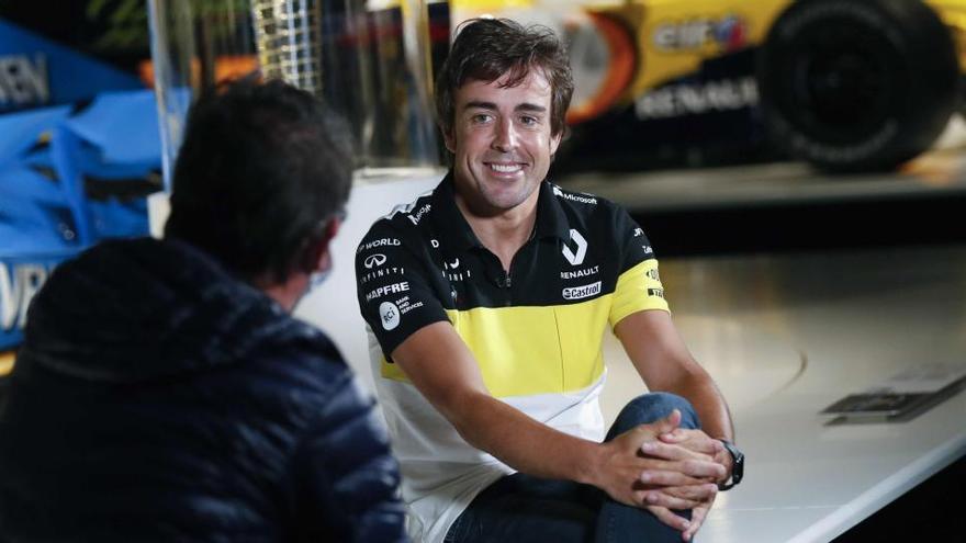 Alonso ya trabaja con Renault para su vuelta a la Fórmula-1