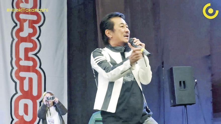 "El cantante japonés de ""Dragon Ball"", grave tras caer en Madrid"