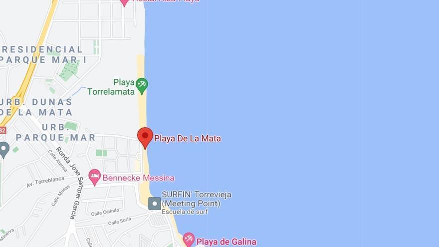 Fallece un hombre de 62 años ahogado en Torrevieja
