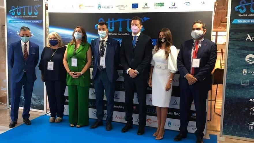 Especialistas de más de 40 países abordan los retos del turismo espacial y subacuático en Marbella