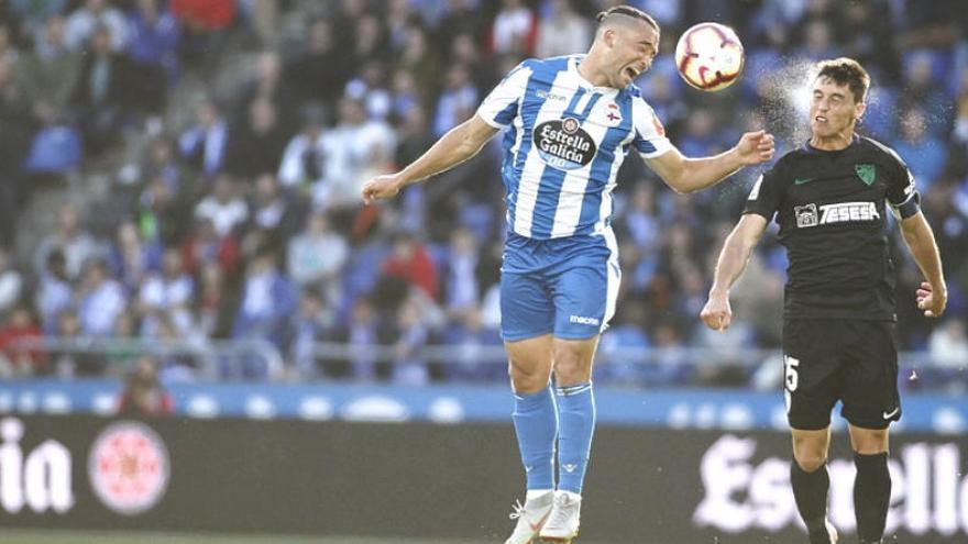 El Deportivo recurre la roja que vio Quique González ante el Málaga