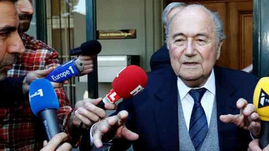 El TAS confirma la suspensión de Joseph Blatter por 6 años