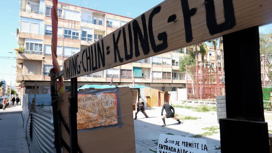 La historia de Melena de Plata: el profesor de Kung Fu de Elda que conoció a Bruce Lee