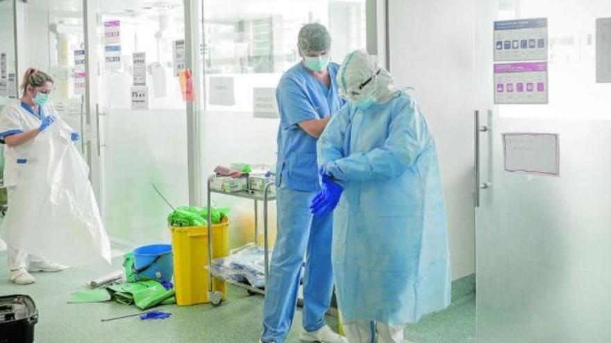 Son Espases bate su récord de pacientes covid en la UCI