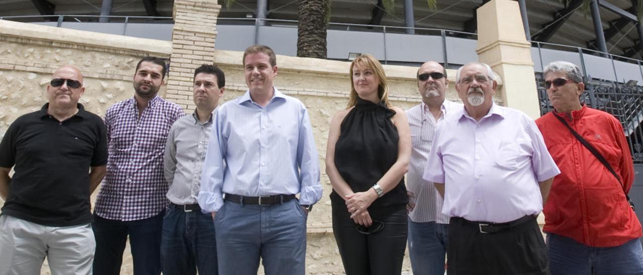 El PSPV-PSOE se persona en  la causa de la plaza de toros y pide ampliar la investigación