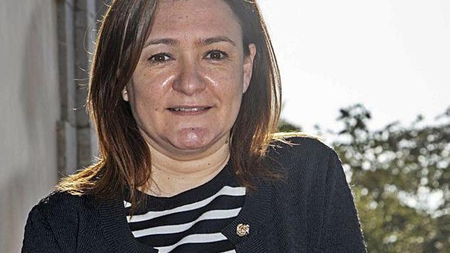 Mercedes Garrido abandona la secretaría general.   MANU MIELNIEZUK