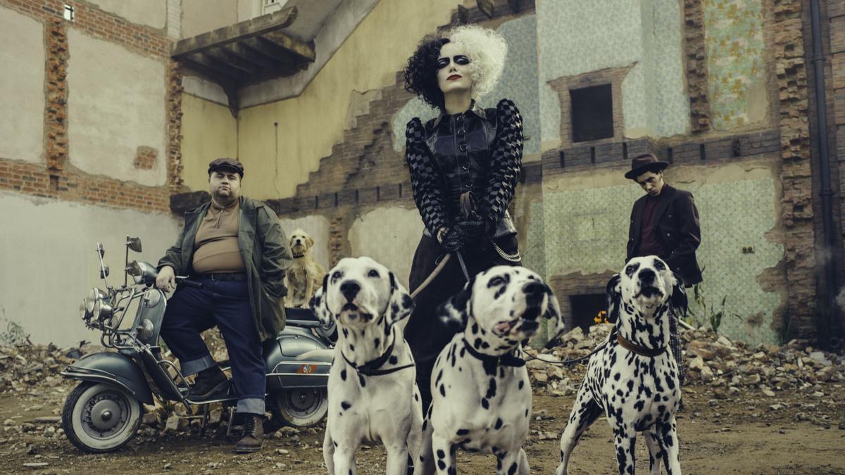 Emma Stone al film 'Cruella'