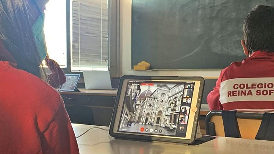El colegio Reina Sofía de Totana 'visita' Florencia gracias al proyecto educativo 'viajando en el aula'