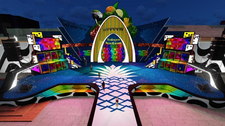 El lunes queda abierto el plazo para diseñar el escenario del Carnaval