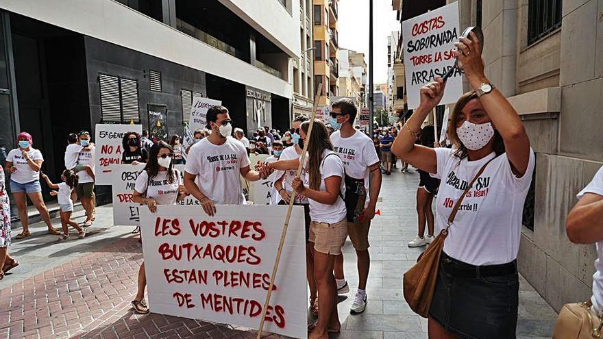 Medi TV, testigo de la protesta por Torre la Sal en Castelló