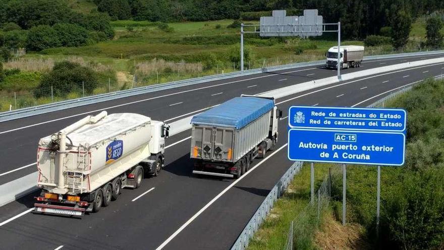 La Xunta de Galicia reclama que se indemnice a la gestora de la AG-55 por el enlace de Meicende