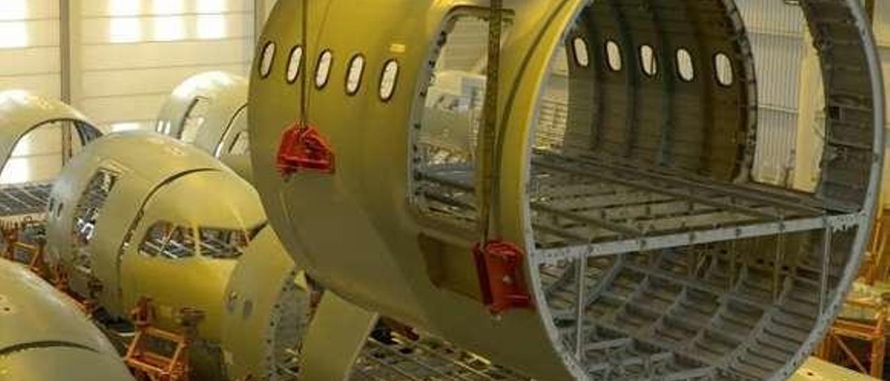 Una de las instalaciones de Stelia Aerospace. // Stelia