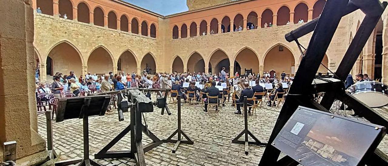 El concierto tuvo lugar en el castillo de Mora de Rubielos.   LEVANTE-EMV
