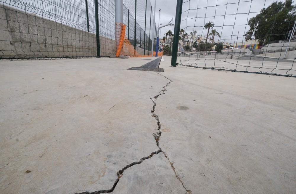 Nuevo parque deportivo del barrio de San Nicolás