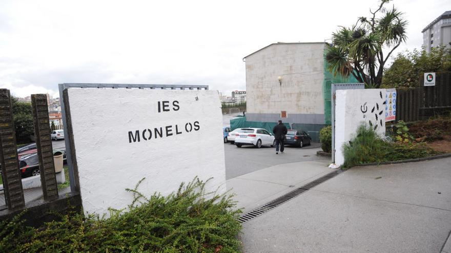 Inundaciones en el instituto de Monelos