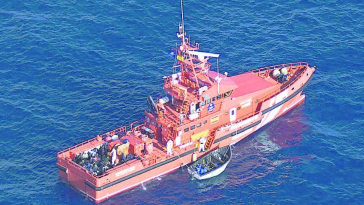 Una patrullera de Salvamento Marítimo.