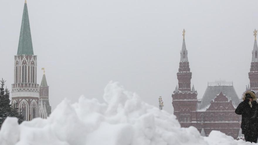 Detenida en Rusia por abandonar a sus tres hijos desnudos a -15ºC