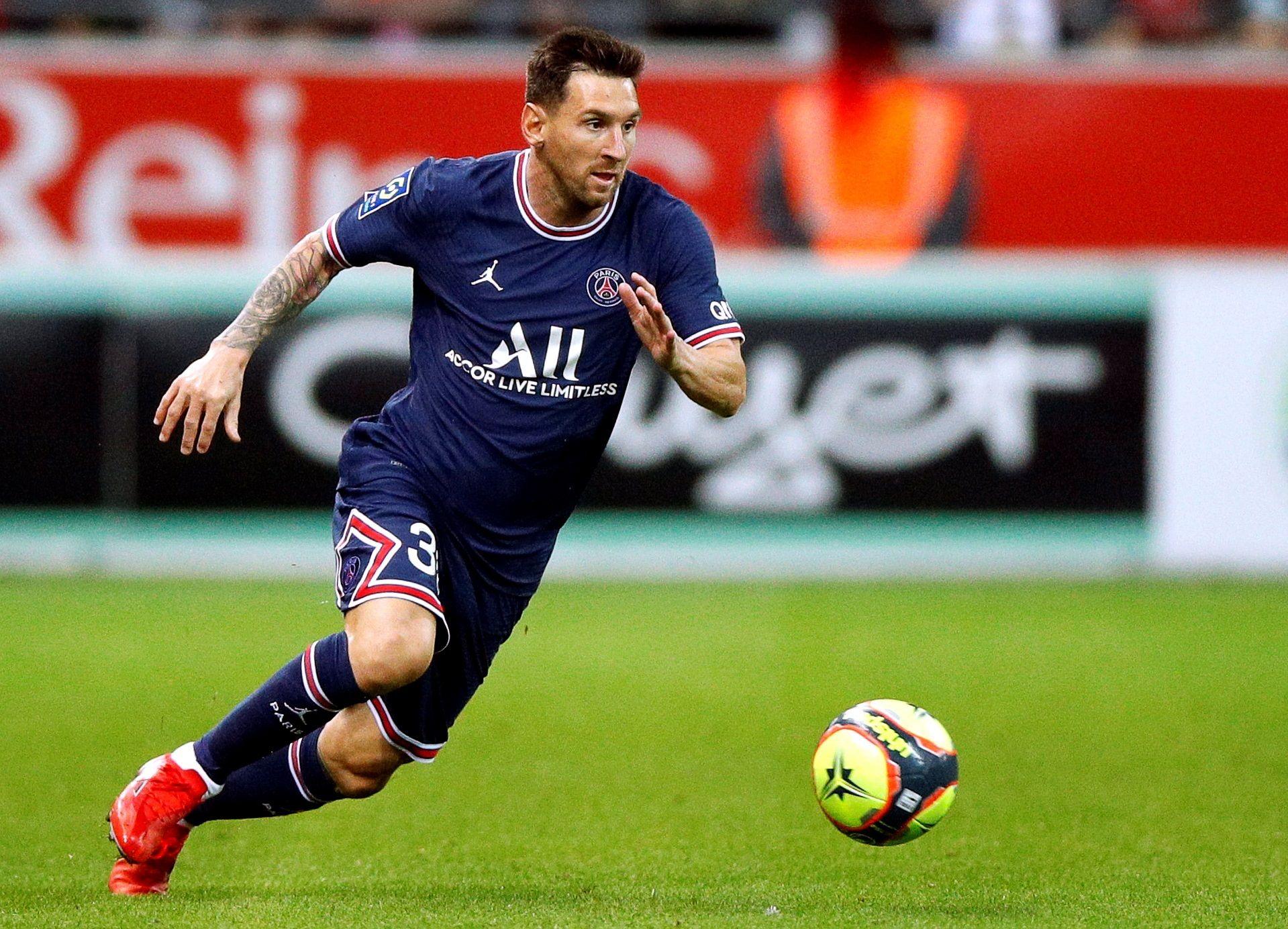 Debut de Messi en el PSG