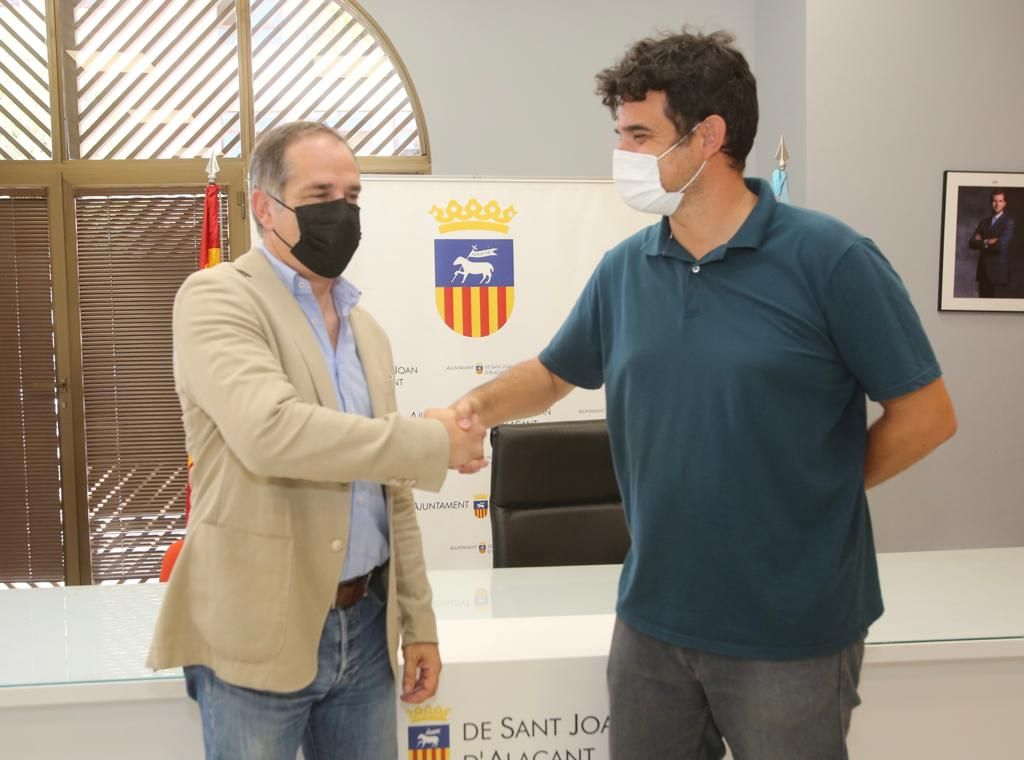 Santiago Román se convertirá el 17 de julio en nuevo alcalde de Sant Joan