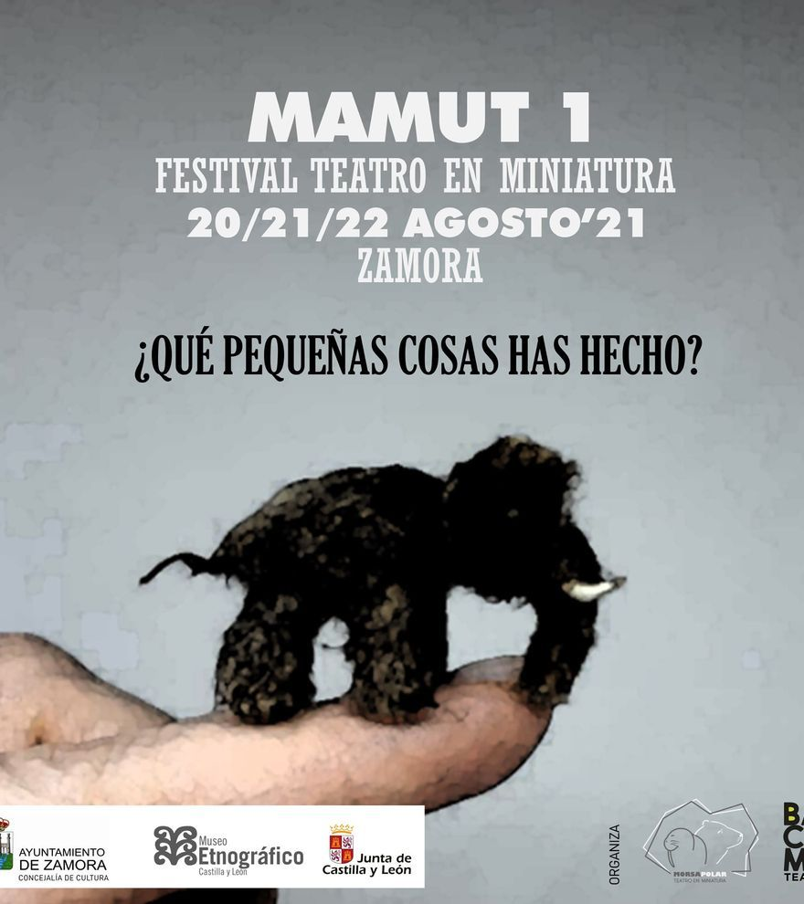 MAMUT1 · Festival de teatro en miniatura